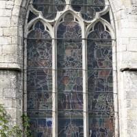 La fenêtre du mur est du vaisseau central du choeur (2015)