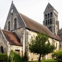 La nef et le clocher vus du sud-ouest (2015)