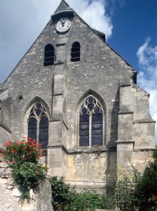 La chapelle sud vue du sud (1994)