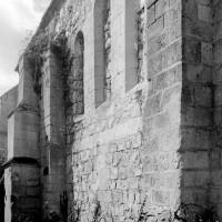Le chevet du 12ème siècle vu du nord-est (1994)