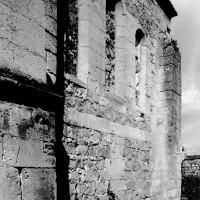 Le chevet du 12ème siècle vu du sud-est (1994)