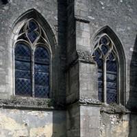 Fenêtres de la chapelle sud vues du sud-ouest (1994)