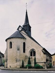 L'église vue du sud-est (2000)