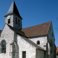 Vue partielle de l'église depuis le sud-est (1995)