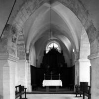 La travée du clocher vue vers l'est (1996)