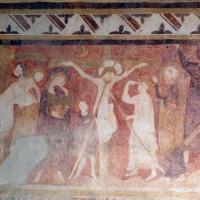 Détail de la fresque : la Cruxifiction