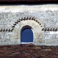 Fenêtre du mur gouttereau sud de la façade (1972)