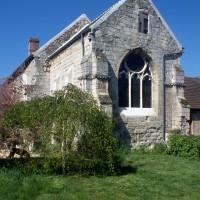 La chapelle vue du sud-est (1993)