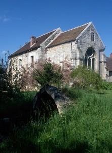 La chapelle dans son environnement vue du sud-est (1993)