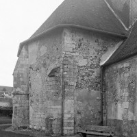 La chapelle nord vue du nord-ouest (1997)