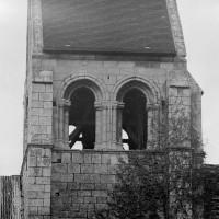 L'étage du beffroi du clocher vu du sud (1970)