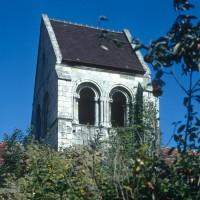 Le clocher vu du sud (1972)