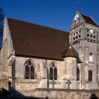 L'église vue du sud-ouest (1993)