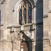 Vue partielle de la façade ouest depuis le sud-ouest (1993)