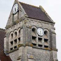 Le clocher vu du sud-ouest (2016)