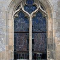 Fenêtre du bas-côté sud de la nef (2016)