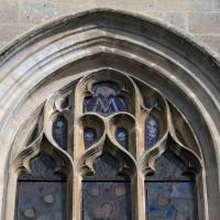 Vue partielle de la fenêtre centrale de la façade ouest (2016)