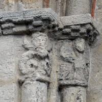 Les chapiteaux de gauche du portail ouest (2016)