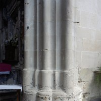 Parties inférieures d'un pilier du choeur (2016)