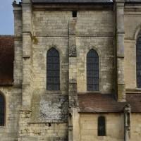 La façade sud du transept du 13ème siècle (2016)
