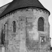 L'abside vue du sud-est (1991)