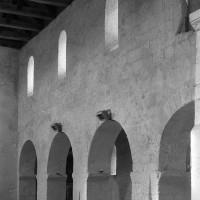 Le mur gouttereau nord vu vers le nord-ouest (1973)