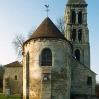 L'église vue de l'est (1993)