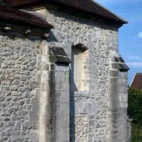 La chapelle du bas-côté sud vue du sud-ouest (1971)