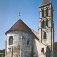 L'église vue du nord-est (1991)