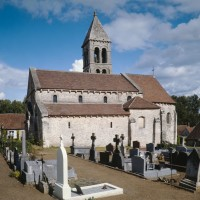 L'église vue du sud-ouest (1991)
