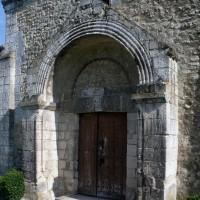 Le portail ouest vu du sud-ouest (1993)