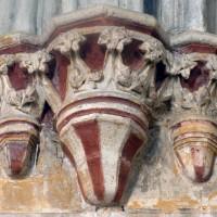 Chapiteaux du mur ouest du choeur (1993)