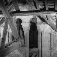 Baie du clocher dans les combles (1970)