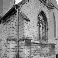 La chapelle du 14ème siècle vue du sud-ouest (1993)