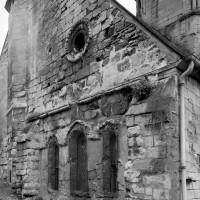 Le bras sud du transept vu du nord-ouest (1993)