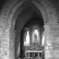 Le bras nord du transept vu vers le nord-ouest (1993)