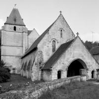 L'église vue du nord-ouest (1992)