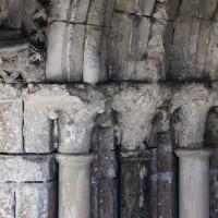 Les chapiteaux du piédroit de gauche du portail ouest (2018)
