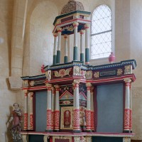 L'autel-retable du choeur (2004)