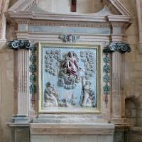 L'autel-retable de la chapelle sud (2004)