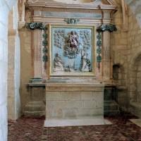 La chapelle sud vue vers l'est (2004)
