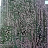 Relevé de la pierre tombale de la nef (2004)