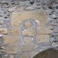 Fenêtre romane de la nef (2015)