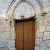 Le portail ouest vu du sud-ouest (2015)