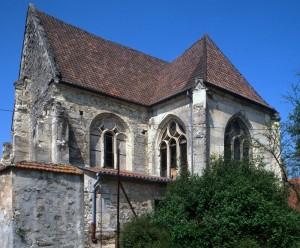 Le transept et le choeur vus du sud-est (1996)