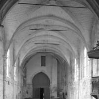 La nef vue vers l'ouest (1996)