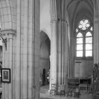 La croisée et le bras nord du transept vus vers le nord-ouest (1980)