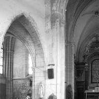 Vue partielle de la croisée du transept vers le nord-est (1980)