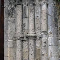 Les piédroits de droite du portail ouest (2016)