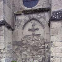 La porte latérale du bras nord du transept (2016)